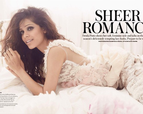 Freida Pinto does Instyle UK-november 2010