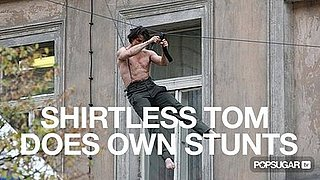 Video of Tom Cruise Doing Shirtless Stunts For Mission Impossible 4 2010-10-06 15:30:00