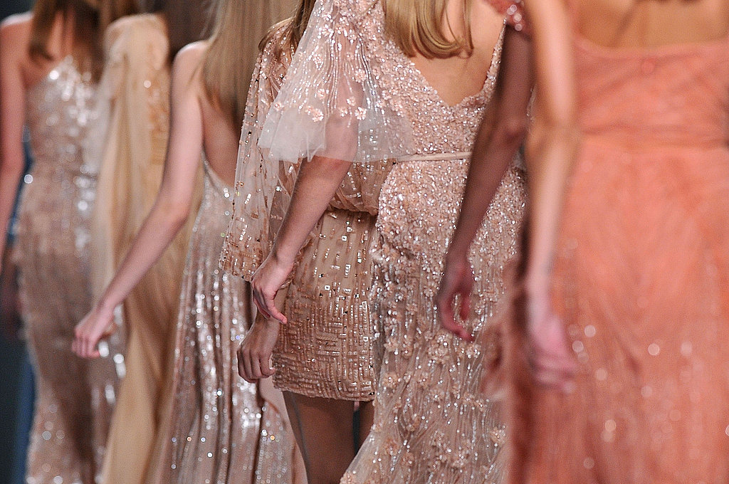 Elie Saab's 2011 Spring Paris Fashion Week Collection Pictures