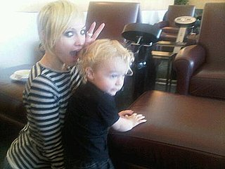 Ashlee Simpson New Short Cropped Haircut Picture