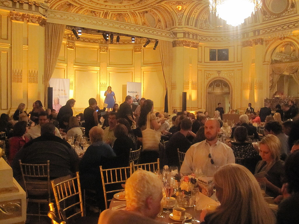 On Sunday morning I headed to the Plaza Hotel for a gospel brunch hosted by Paula Deen.