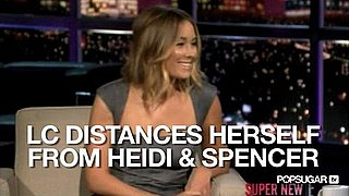 Video of Lauren Conrad on Chelsea Lately Talking About Heidi Montag and Spencer Pratt 2010-10-14 12:29:28