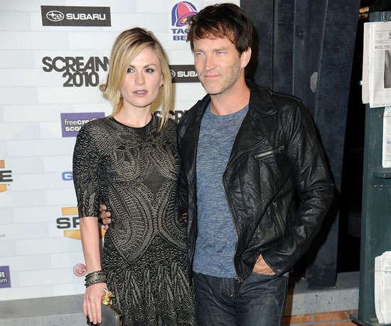 Slide Picture of Anna Paquin and Stephen Moyer at Scream Awards