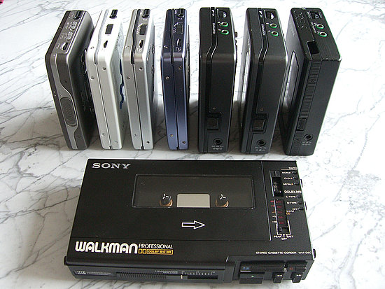 Sony Cassette Walkman Discontinued