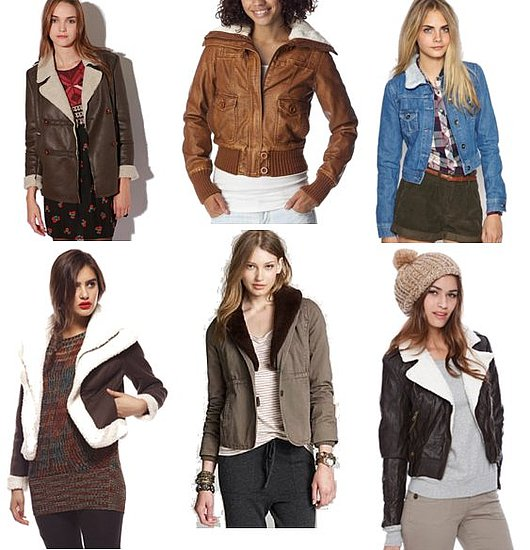 Shearling and Leather Jackets