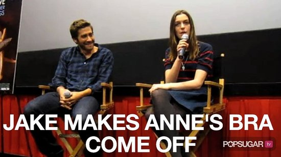 Video of Jake Gyllenhaal and Anne Hathaway Talking About Love and Other Drugs