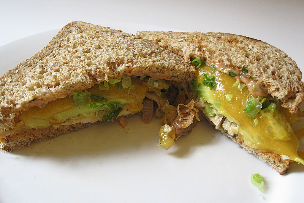 Chicken, Avocado, and Cheddar Melt