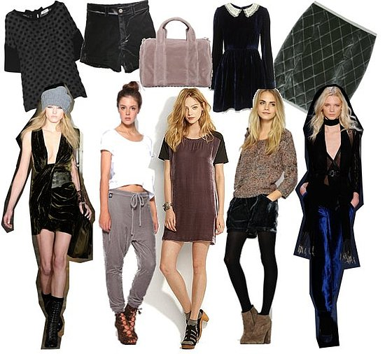 Shop the Best Velvet Clothing and Accessories for Fall 2010