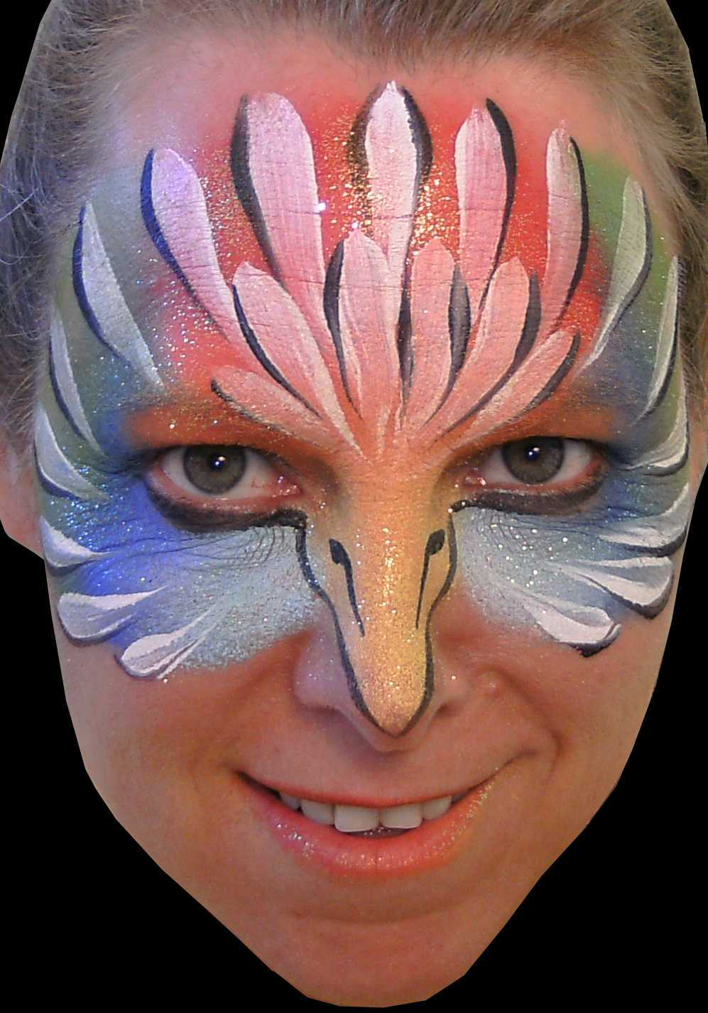 Face Painting Ideas for Halloween POPSUGAR Beauty - Cheap Halloween Face Paint Ideas