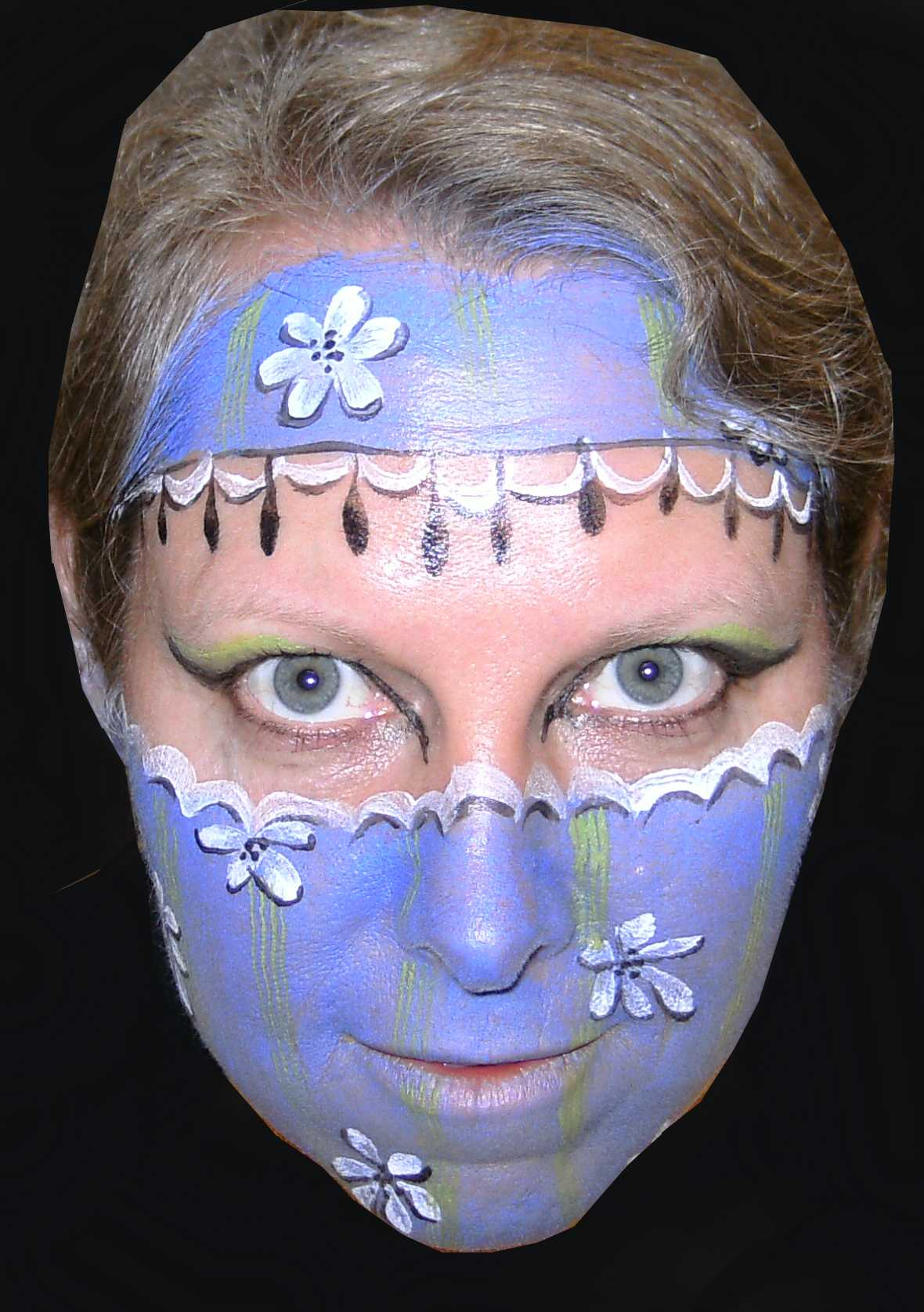 adult dog face paint - Halloween Face Paint Ideas For Adults