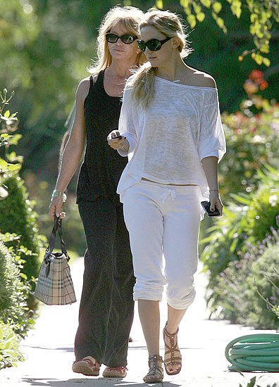 Pictures of Kate Hudson, Goldie Hawn, and Kurt Russell Together in LA