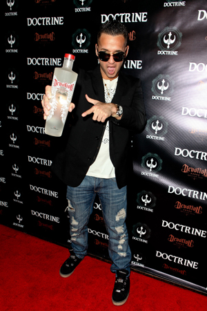"""Mike """"The Situation"""" Sorrentino Promotes Devotion Protein Infused Devotion Vodka"""