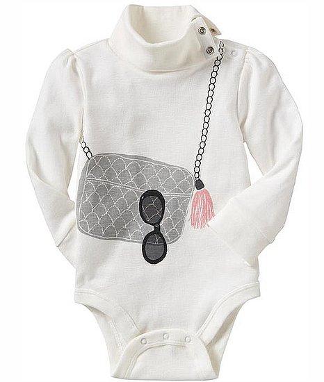 Chanel Bag Print Baby Onesie Top at Gap