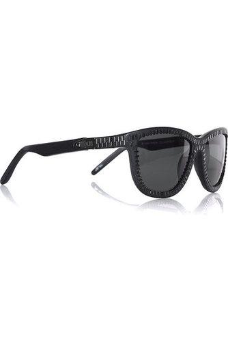 Alexander Wang-Zipper square-frame sunglasses