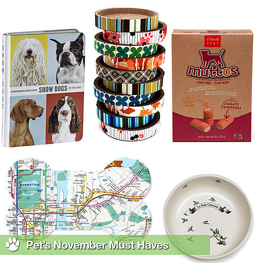 NYC Dog Placemat, Show Dogs, Circle Scratch, Muttos Turkey and Cranberry Treats