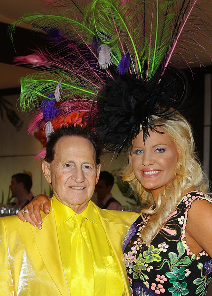 Geoffrey Edelsten and Brynne Gordon-Edelsten