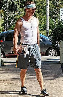 Pictures of Matthew McConaughey and Vida in LA