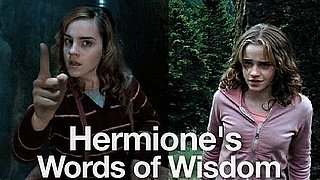 Hermione's Words of Wisdom Video From Harry Potter Movies