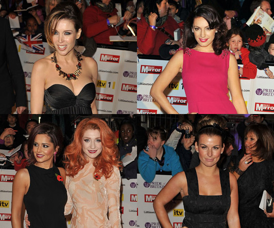 Photos of Celebrities on the Red Carpet at the 2010 Pride of Britain Awards