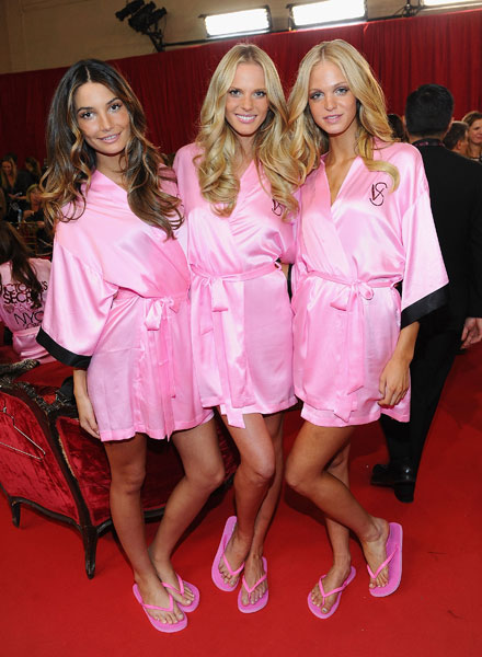 Lily Aldridge, Anne Vyalitsina and Erin Heatherton