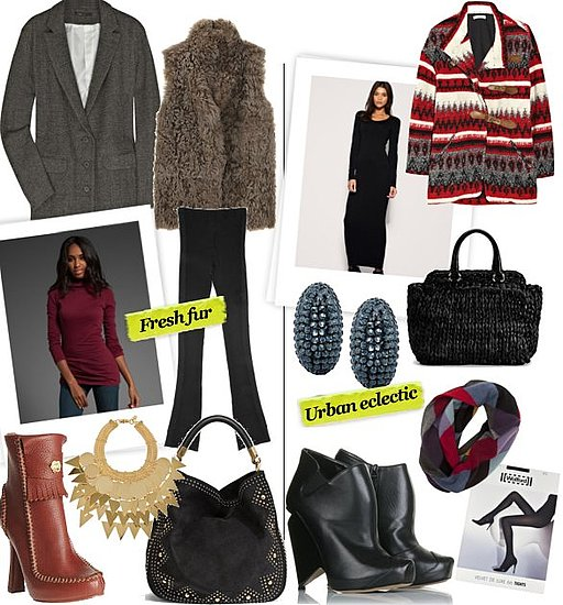 Winter 2010 Layering Outfits