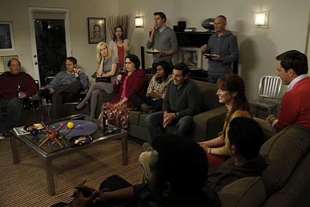 The Office Glee Viewing Party