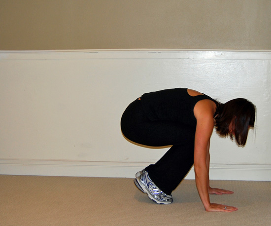 Jump Down Before Going to Plank