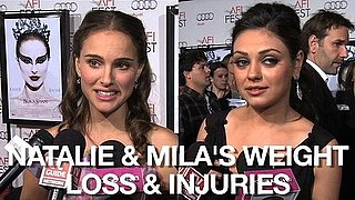 Video of Natalie Portman and Mila Kunis at the LA Premiere of Black Swan 2010-11-13 01:10:43