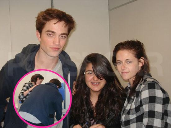 Photos of Robert Pattinson and Kristen Stewart