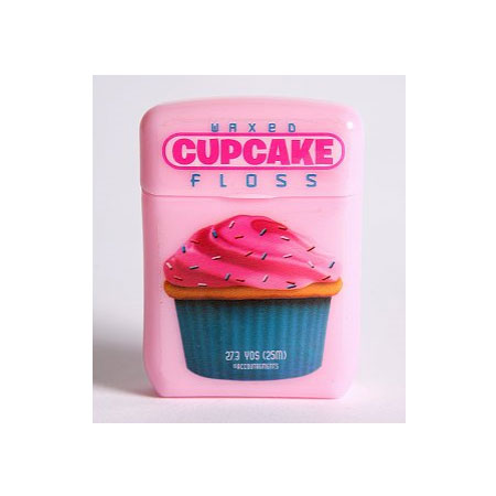 Urban Outfitters Cupcake Floss (approx $6.10)
