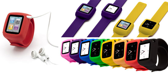 Slap Bracelet iPod Nano Case