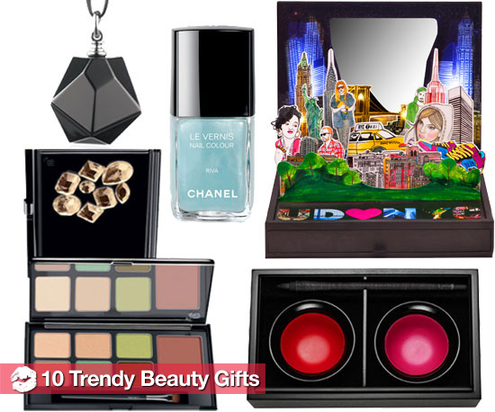 The Trendiest New Makeup For Holiday 2010