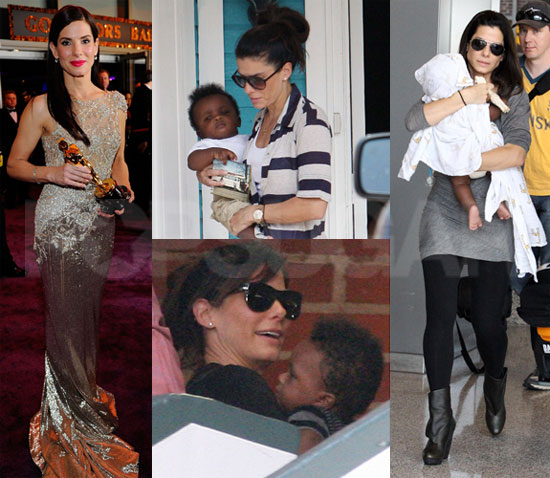 Biggest Headline of 2010: Sandra Bullock's Surprise Adoption of Louis!