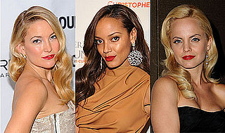 Pictures of Celebrities Wearing Veronica Lake Hairstyles and Red Lips 2010-11-19 14:01:58