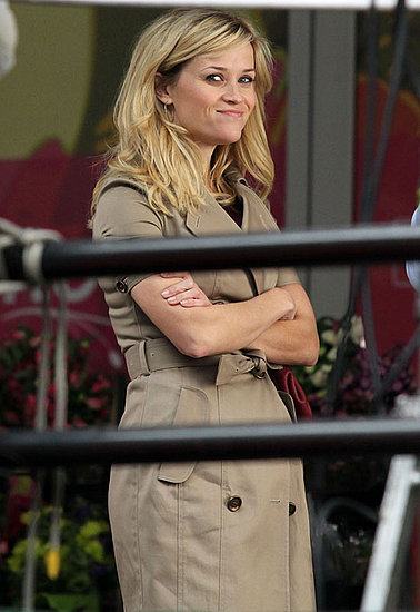 Pictures of Reese Witherspoon and Tom Hardy Filming This Means War