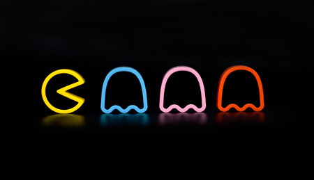 Photos of the Pac-Man Cookie Cutters