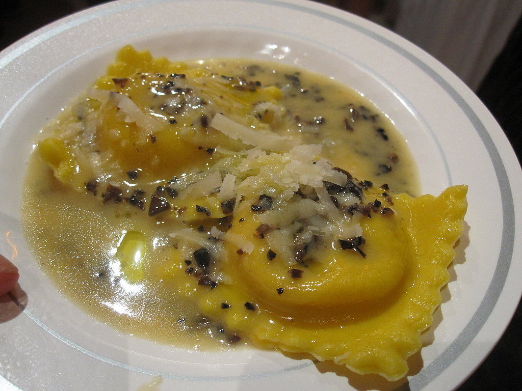One of the best dishes of the weekend was Canadian chef Rob Feenie's butternut squash ravioli with truffles. The delicate layers of pasta melted in your mouth and the subtle essence of truffle was absolutely sublime. I went back for thirds!