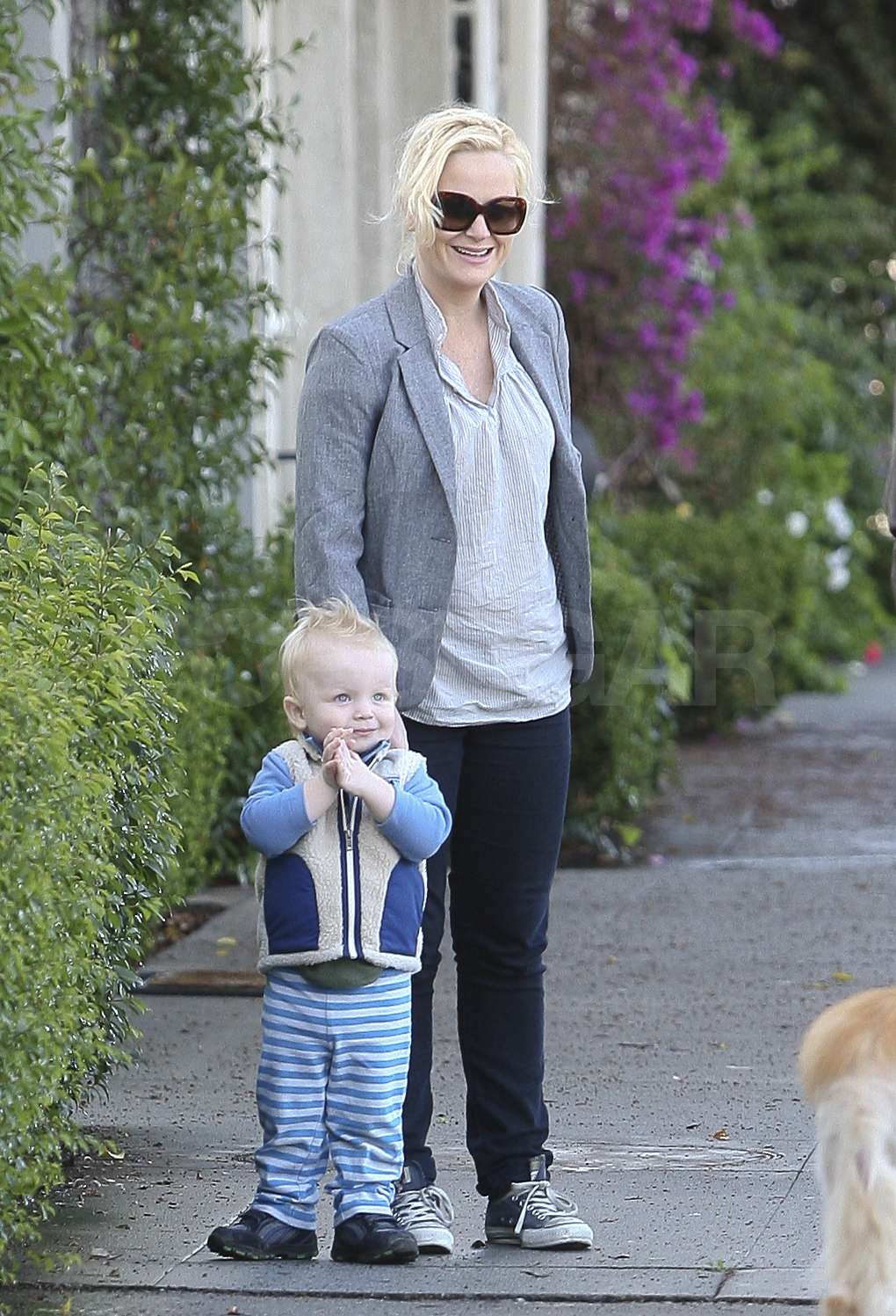 Pictures of Amy Poehler and Archie Arnett