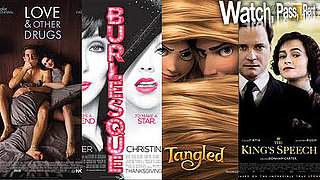 Love and Other Drugs, The King's Speech, Burlesque, Tangled Video Reviews