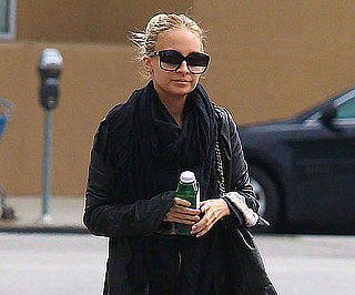 Slide Picture of Nicole Richie Leaving the Gym in LA