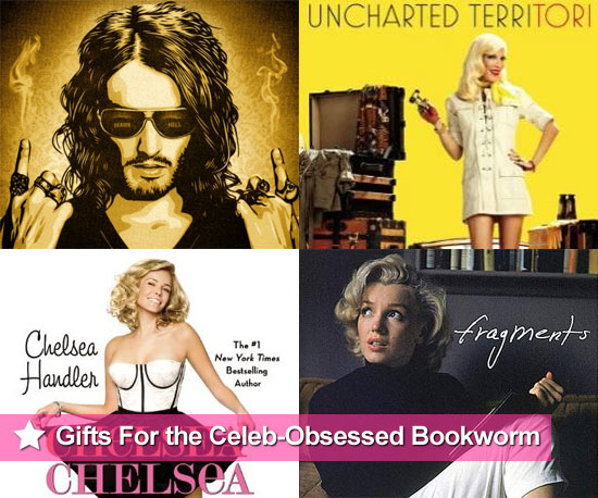 PopSugar 2010 Gift Guide - Best Celebrity Books from Portia De Rossi, Russell Brand, Angelina Jolie, Marilyn Monroe and more