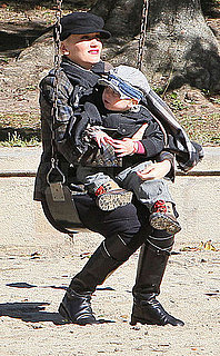 Pictures of Gwen Stefani, Gavin Rossdale, Kingston Rossdale, and Zuma Rossdale Over Thanksgiving Weekend in LA