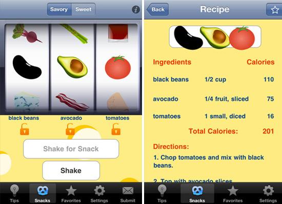 Simple Healthy Snack Recipes App