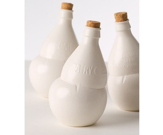 Matt White Dairy Crest Bottles