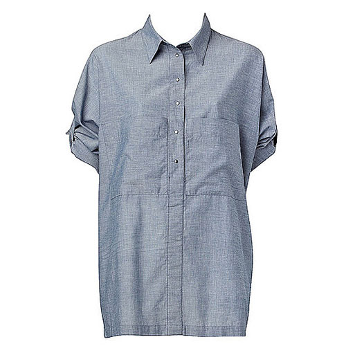 Overisized Tab Sleeved Shirt