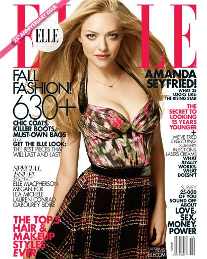 October 2010: US Elle Magazine