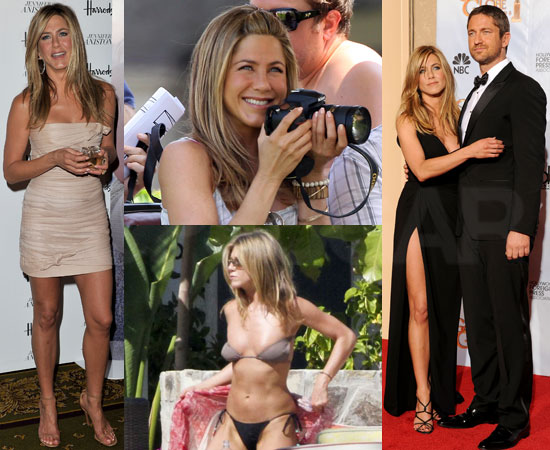 Biggest Headline of 2010: Jennifer Aniston's Full Year of Filming, Fun With Friends, and Figure-Baring Bikinis!