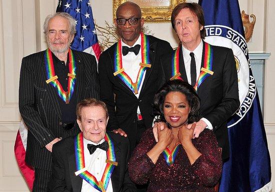 Oprah Receives Kennedy Center Honors