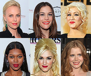 Celebrities Go Wild For the New Bright Lipstick Trend