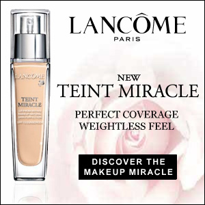 New Teint Miracle From Lancôme. Flawless Finish. Weightless Coverage.